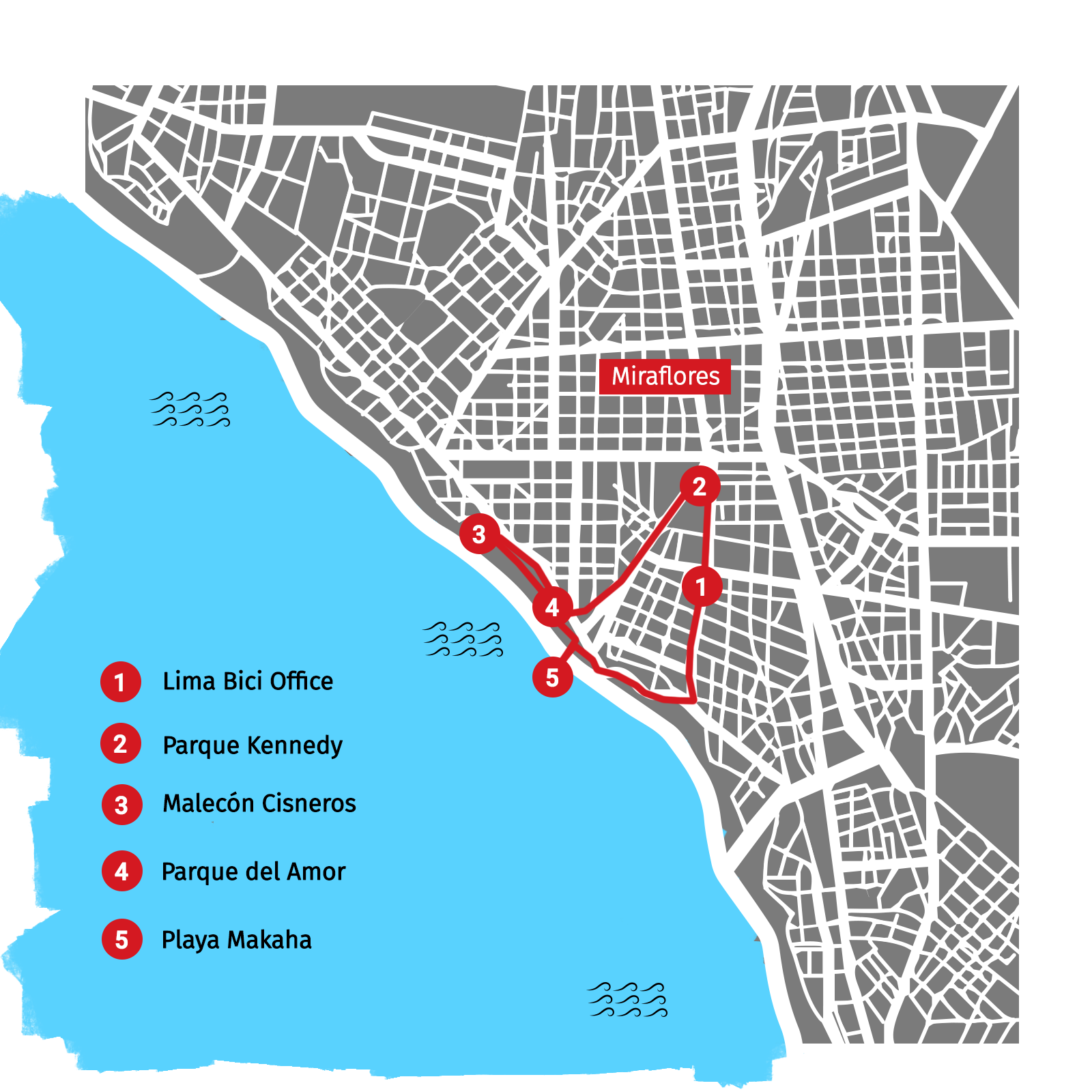 map tour surf and bike